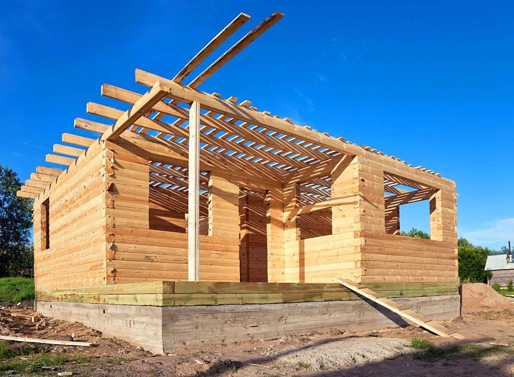 Строительство дома своими руками: строим дом из бруса поэтапно