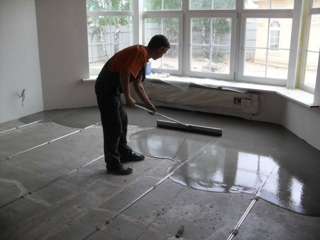 Подготовка пола к укладке плитки – возможности укладки на поверхности разных типов